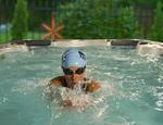 Basen z przeciwprądem Aquatrainer Swim SPA IX 14 HYDROPOOL - zdjęcie 10