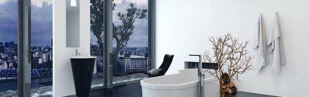 Łazienka na poddaszu – dwie aranżacje salonu kąpielowego