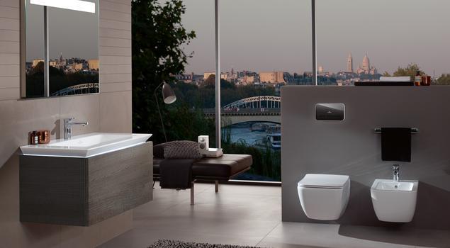 Oświetlenie łazienkowe według Villeroy & Boch