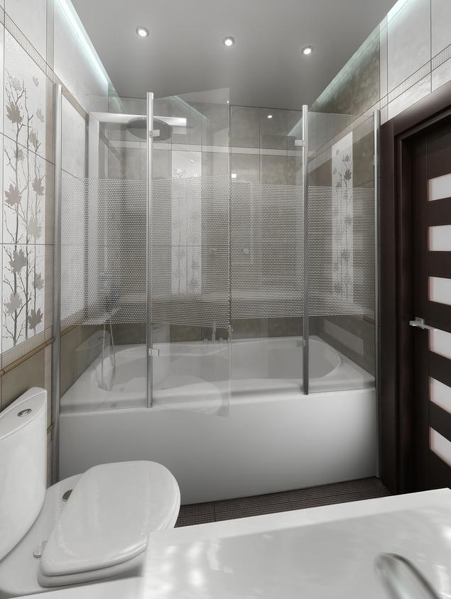 Zobacz galerię zdjęć Pomysł na małą łazienkę. Wanna czy prysznic - co wybrać?  Stronywnętrza.pl